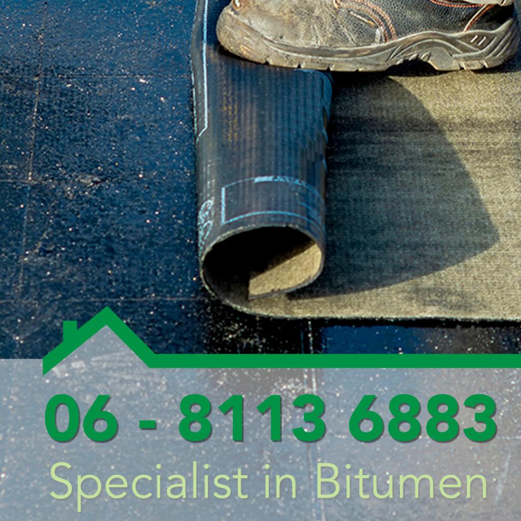 Direct contact met de bitumen specialist Dakdekker Almere