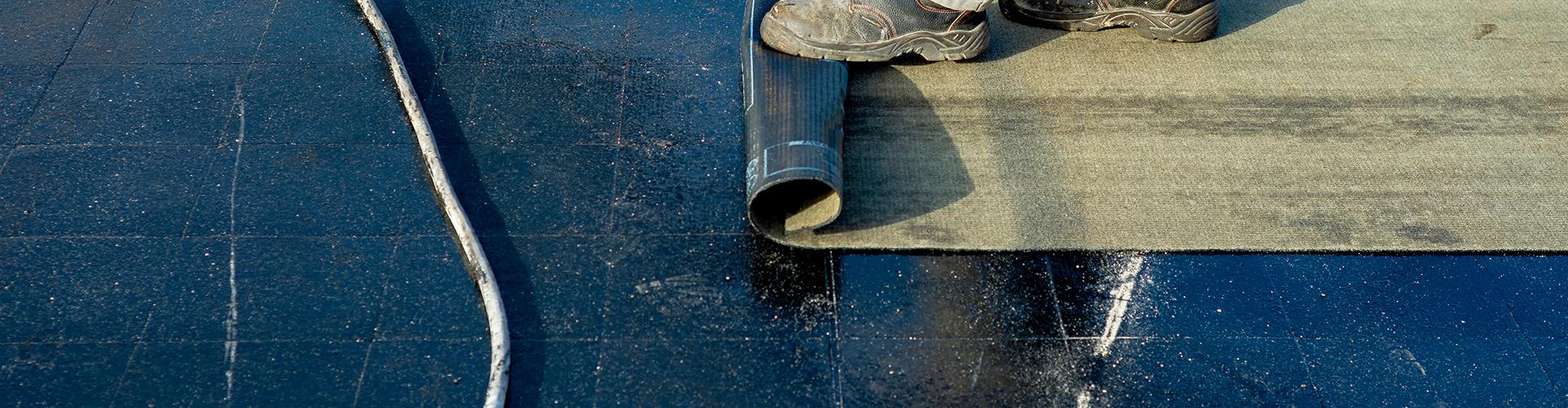 Afbeelding van bitumen dakbedekking door Dakdekker Almere