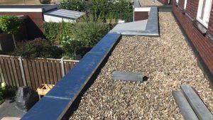 zinkendeklijst dakbedekking in Almere